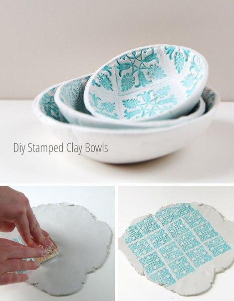 Красивые тарелки из полимерной глины 0