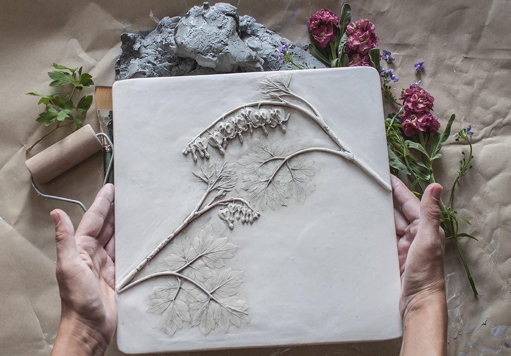 Создаем гипсовые отпечатки растений: мастер-класс 0