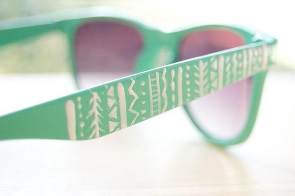 Как украсить солнцезащитные очки: дорого на вид и дешево на деле 1
