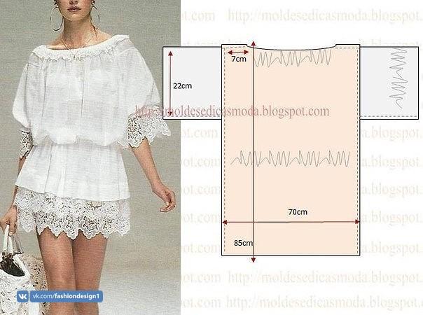 Красивые блузки: моделирование 0