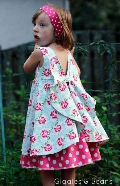 Красивейшее детское платье за 3 часа 6