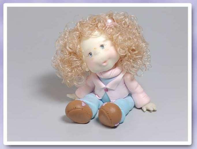 Кукла из холодного фарфора 0