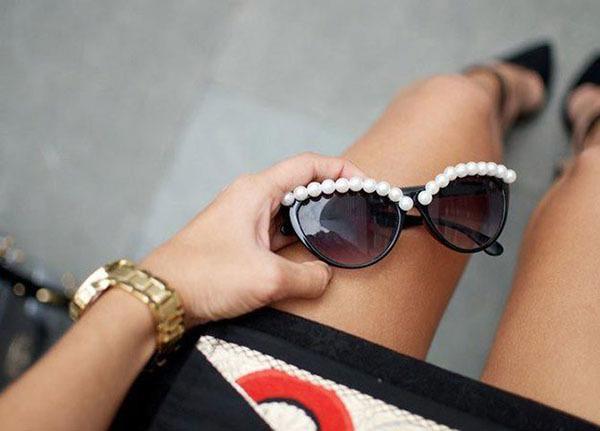 Как украсить солнцезащитные очки: дорого на вид и дешево на деле 4