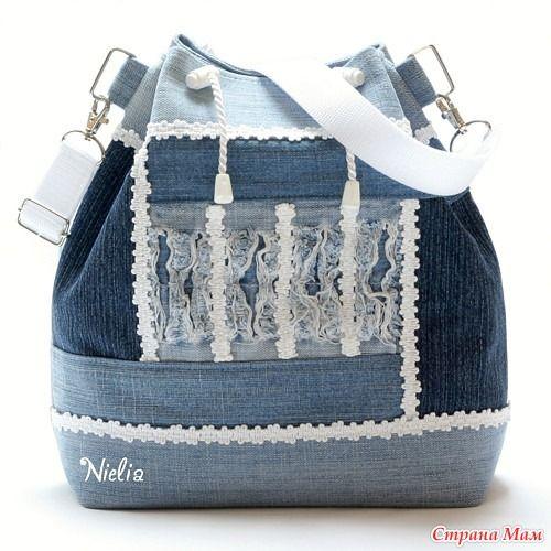 873ae6d432db Сумки и рюкзаки из джинсов: идеи — Сделай сам, идеи для творчества ...