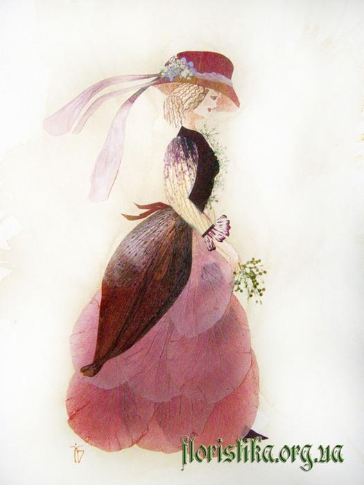 Ошибана:  живопись цветами 7