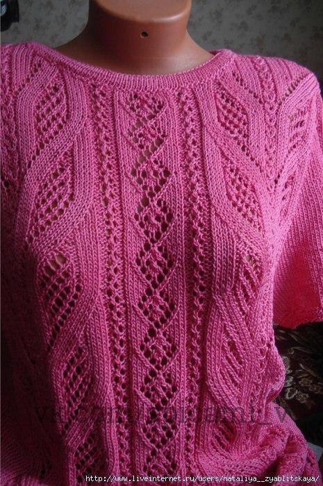 Жар-птица: невероятная красота вязаной вещи 0