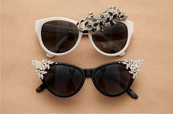 Как украсить солнцезащитные очки: дорого на вид и дешево на деле 2