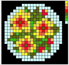 Схемы для вышивки брошей с цветами 3