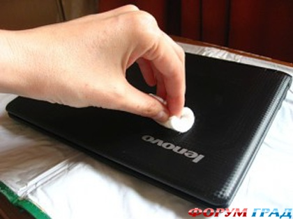 Декупаж для ноутбука: мастер-класс 1