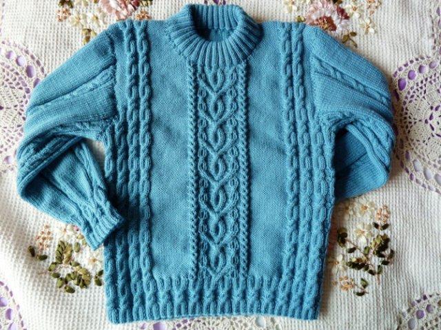 "Пуловер ""мечты о море"" 0"