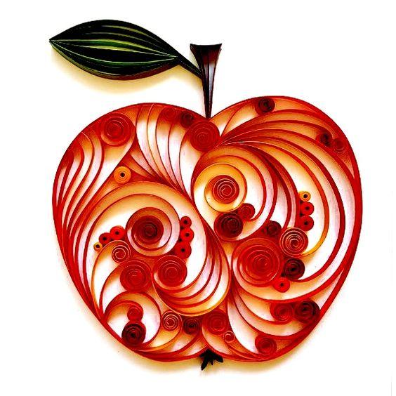 Яблочный квиллинг 0