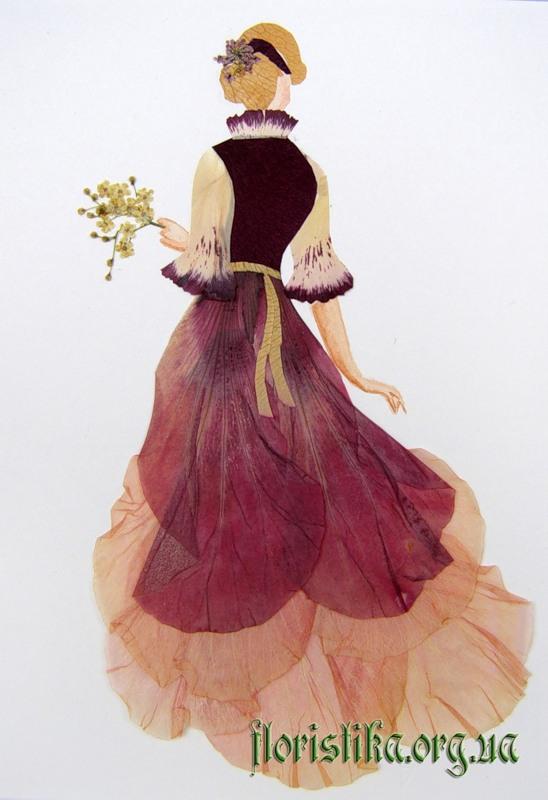 Ошибана:  живопись цветами 4