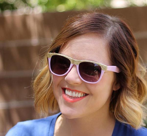 Как украсить солнцезащитные очки: дорого на вид и дешево на деле 3