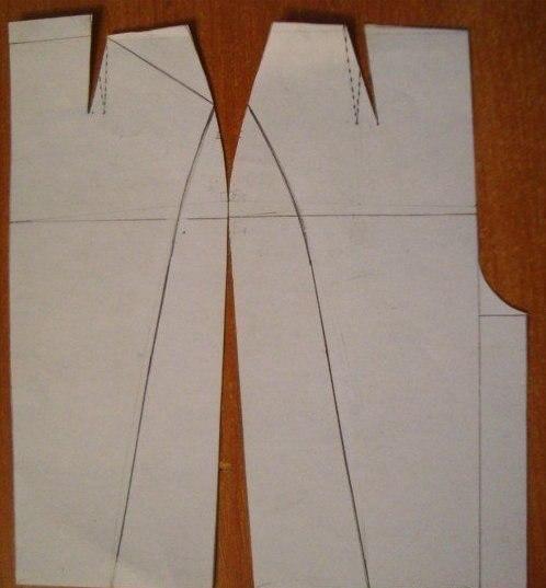 Моделирование юбки - карандаш от Donna Karan 2