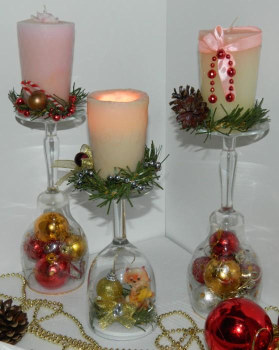 Декор новогоднего стола: идеи 11
