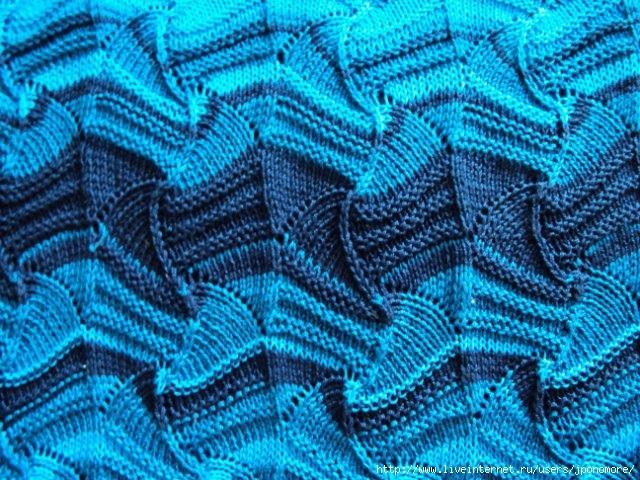 Узоры Миссони: вязание на спицах 0