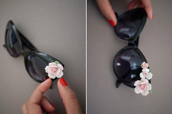Как украсить солнцезащитные очки: дорого на вид и дешево на деле 0