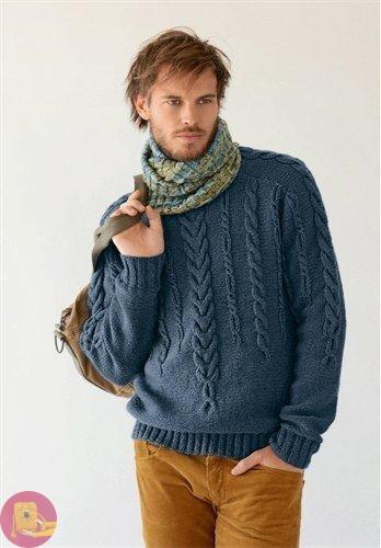 Превосходный уютный свитер для любимого мужчины 0