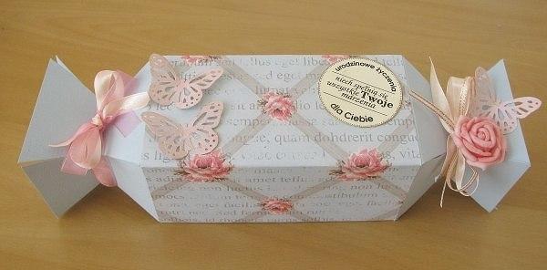 Коробка из бумаги своими руками с конфетами