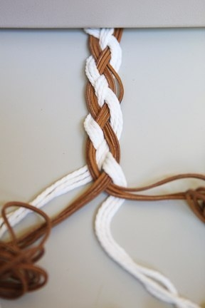 Плетеные пояса своими руками