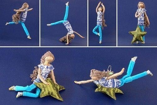 Как сделать куклу из проволоки своими руками 48