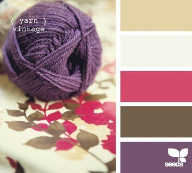 Палитра сочетания цветов в вязании 13