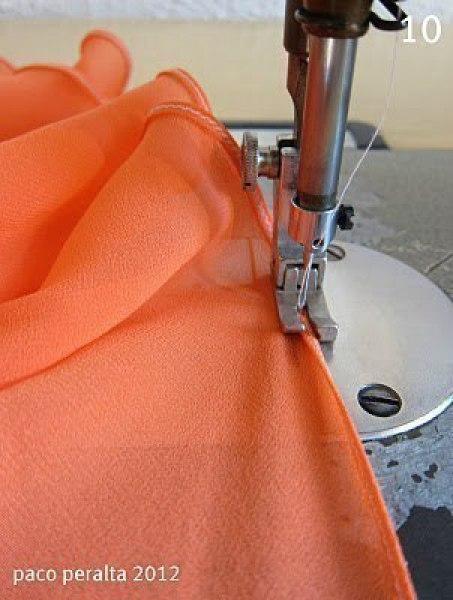 Как сшить юбку без оверлока 81