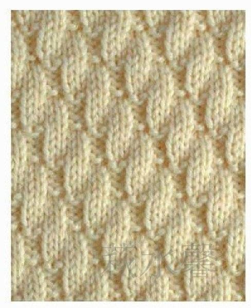 Узоры спицами для детских шарфиков спицами