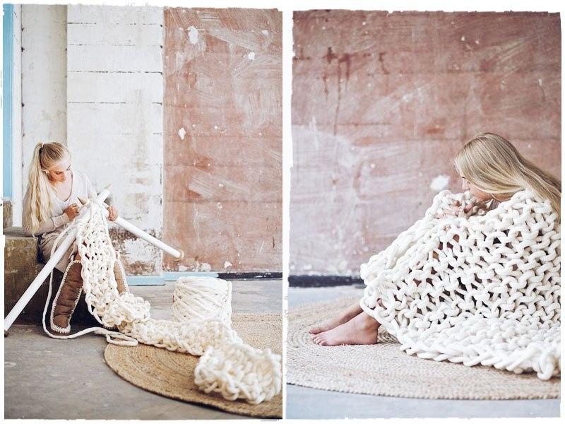 Вязание нитками пеликан