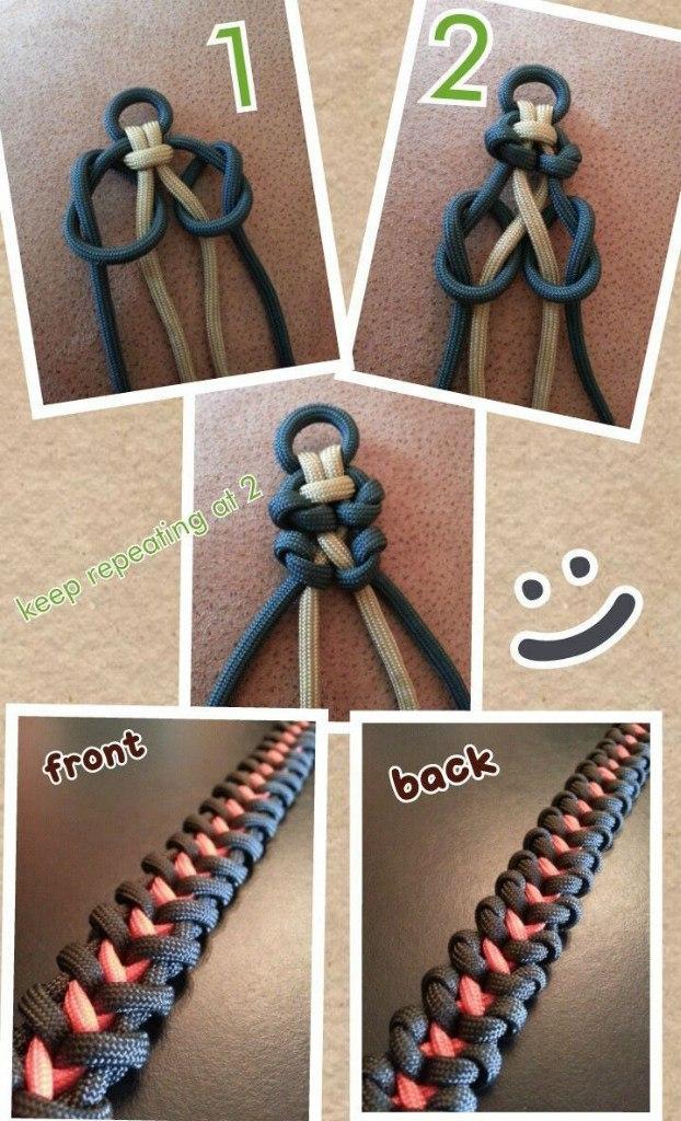 Браслет из паракорда своими руками схемы плетения инструкция 786