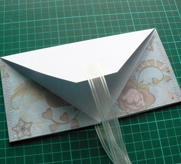 Как делать открытку для денег своими руками
