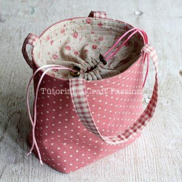 текстильные мешочки своими руками