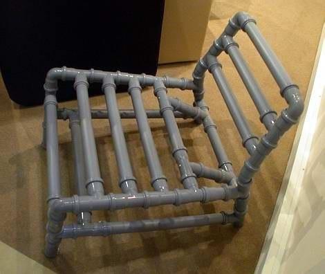 Мебель из полипропиленовых труб своими руками фото