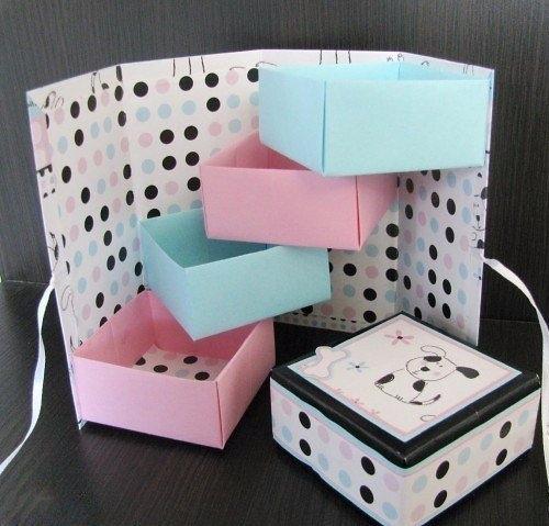 Как сделать из бумаги и картона шкатулку