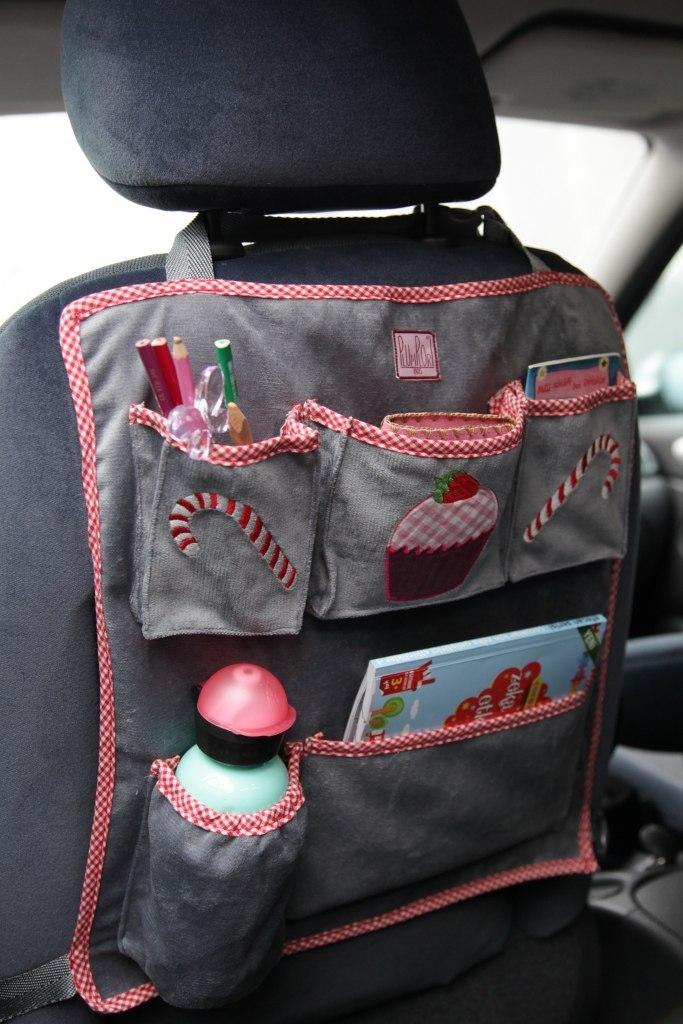 Сшить органайзер в машину для ребенка