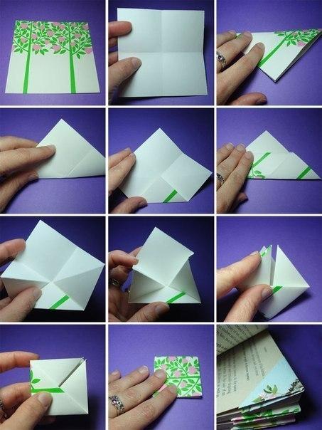 Як зробити закладку для книги своими руками