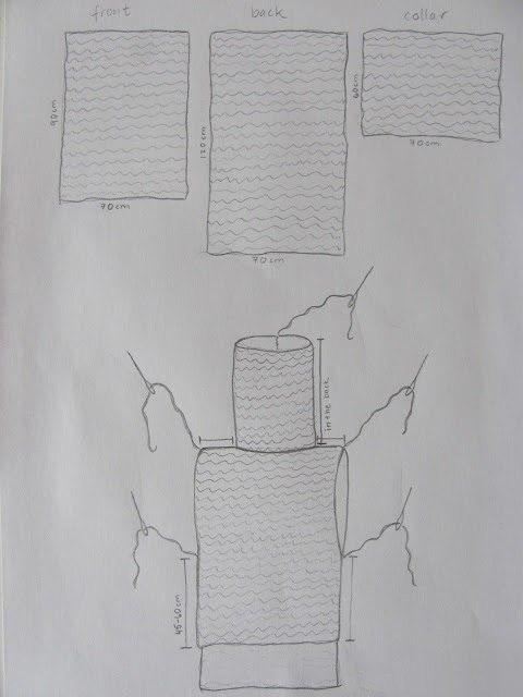Оригинальная и простая в исполнении безрукавка спицами 5