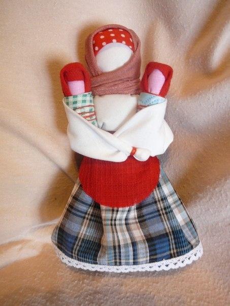 Куклы своими руками из ткани обереги