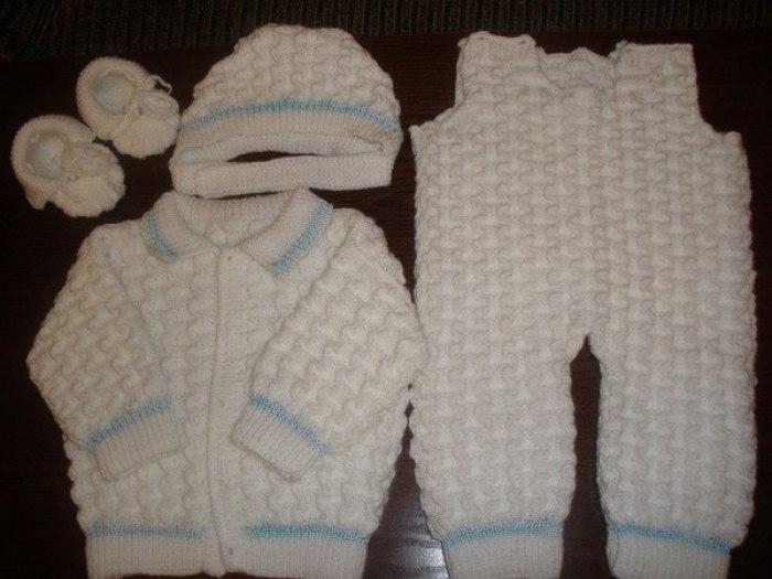 Вязаные Кофты Для Новорожденных