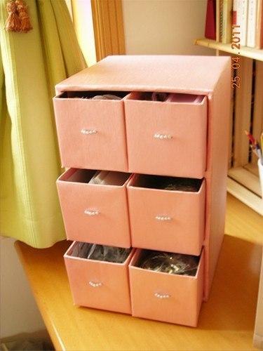 Шкафчики из картона