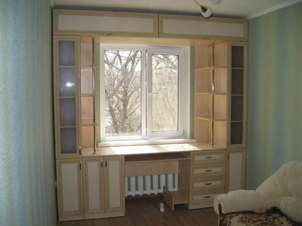 Изготовление встрооенной мебели, прихожие, спальни, кухни, ш.