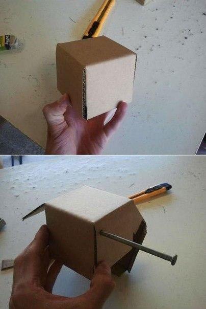 Сделать копилку своими руками бумаги