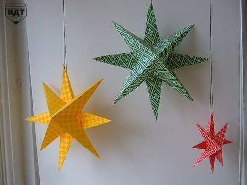 Вифлеемская звезда своими руками мастер класс