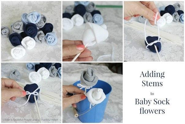 Как сделать букет из носков для мужчины своими руками пошагово для