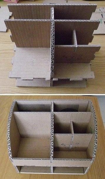 Органайзеры для обуви из коробок своими руками