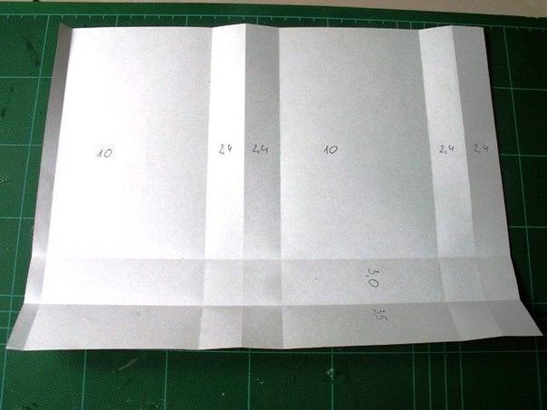 Как сделать бумажный пакет из бумаги своими руками 13