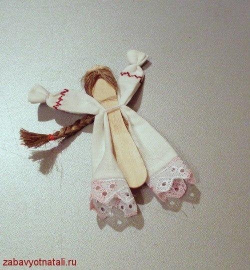 Куколка на палочке 139