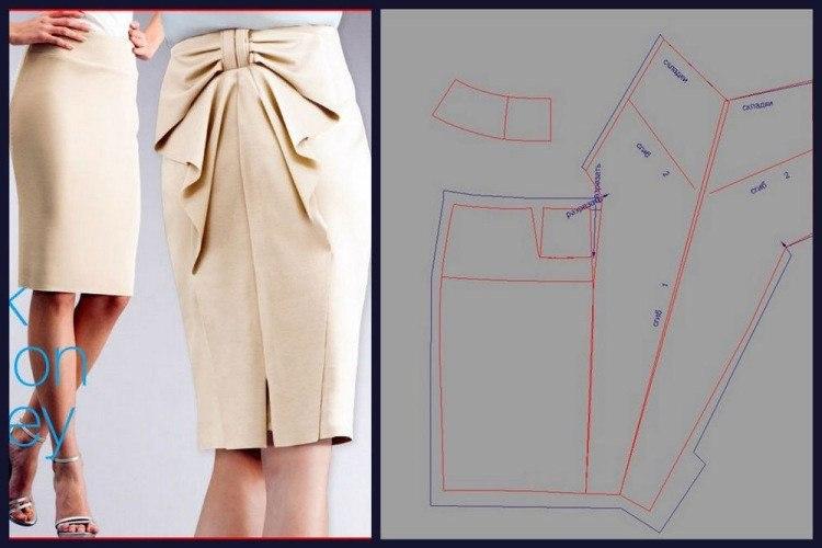 Модели юбок своими руками модели