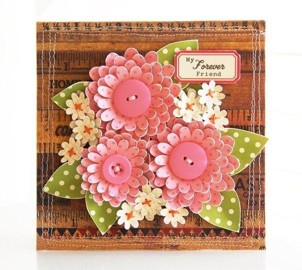 Цветы для скрап открыток 353