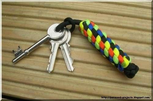 Брелок на ключи своими руками фото